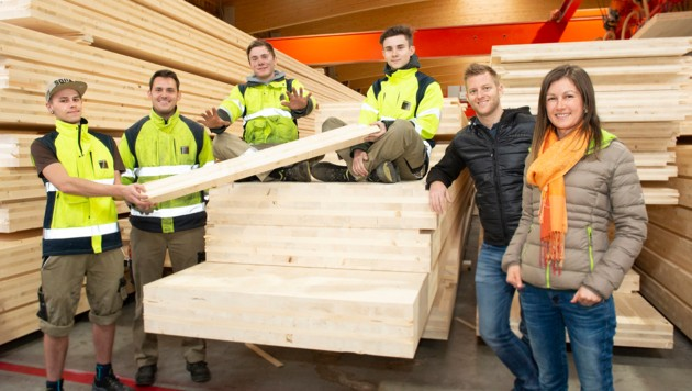 Die besten Lehrbetriebe 2019: Dazu gehört unter anderem die Firma Binder Holz. (Bild: WK/Photography © Andreas Hauch )
