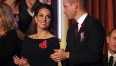 Herzogin Kate und Prinz William (Bild: AFP)