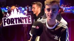 """""""Stompy"""" ist einer der erfolgreichsten """"Fortnite""""-Spieler Österreichs. (Bild: krone.tv, krone.at-Grafik)"""