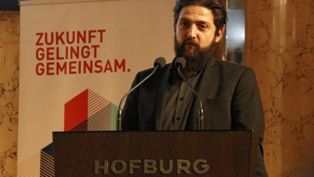 Prof. Dr. Aladin El-Mafaalani, Soziologe und Bestseller-Autor (Bild: Martin Jöchl)