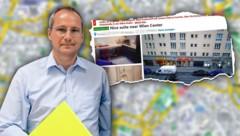 ÖVP-Gemeinderat Wolfgang Ulm (Bild: Klemens Groh, booking.com, stock.adobe.com, krone.at-Grafik)