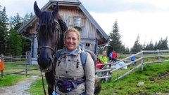 Tierärztin Krista Kammergrabner aus Nestelbach bei Graz - hier mit ihrem prächtigen Pferd Magic - würde nie ein verletztes Tier im Stich lassen!   (Bild: zVg)