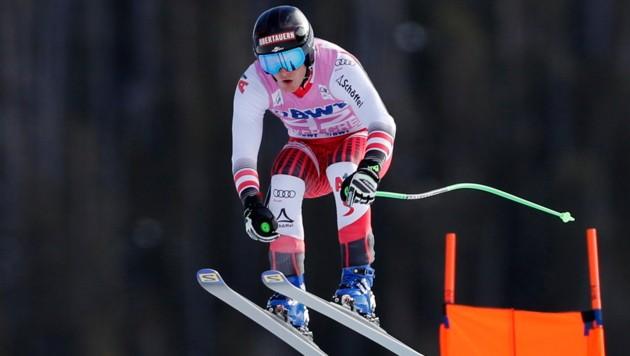 Christopher Neumayer ist im Anflug auf seine Weltcup-Saisonpremiere. (Bild: EPA)
