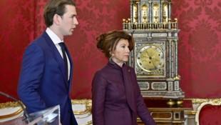 Wann lässt Übergangskanzlerin Bierlein Kurz wieder den Vortritt? (Bild: APA/HANS PUNZ)