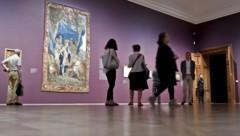 Die umfassende Kunstsammlung im Belvedere umfasst Werke vom Mittelalter bis zur Gegenwart. (Bild: APA/HERBERT NEUBAUER)