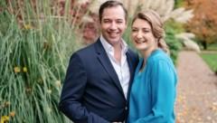 Erbgroßherzog Guillaume und Erbgroßherzogin Stephanie erwarten ihr erstes Kind. (Bild: www.twitter.com)