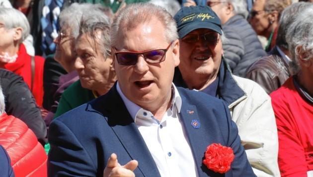 Heißes Gerücht im Landhaus: Der steirische Gewerkschafts-Chef Horst Schachner soll ein Bundesratsmandat erhalten. (Bild: Juergen Radspieler)