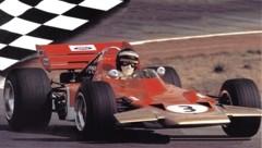 Jochen Rindt im Lotus. 1970 wurde der Grazer posthum Weltmeister. (Bild: Hruby/Keppel)