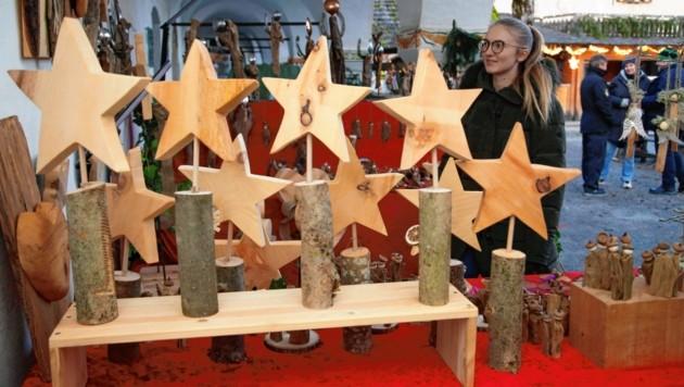 Der Christkindlmarkt auf der Burg Hochosterwitz legt den Fokus auf regionale Handwerkskunst. (Bild: Rojsek-Wiedergut Uta)