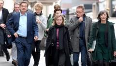 Grüne Verhandler - bald in der Regierung? (Bild: APA/Roland Schlager)