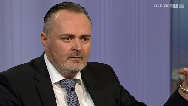 """Hans Peter Doskozil: """"Nur beim Personal anzusetzen würde höchstwahrscheinlich die Negativspirale für die Partei weitertreiben."""" (Bild: tvthek.orf.at)"""