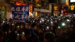 Seit sechs Monaten gibt es in Hongkong Proteste. Ein Ende ist nicht abzusehen. (Bild: AFP )