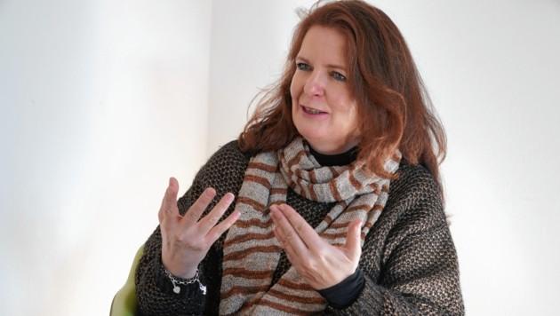 Michaela Gosch, Leiterin der Frauenhäuser Steiermark (Bild: Sepp Pail)