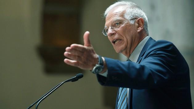 Josep Borrell (Bild: AFP)