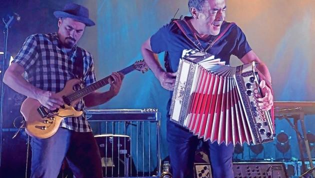 Hubert von Goisern live on Stage im Posthof Linz Foto: Kronen Zeitung/ Chris Koller kronebild@ronet.at (Bild: Kronen Zeitung/ Chris Koller)