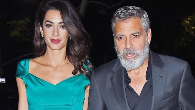 George Clooney und Amal Clooney (Bild: www.PPS.at)