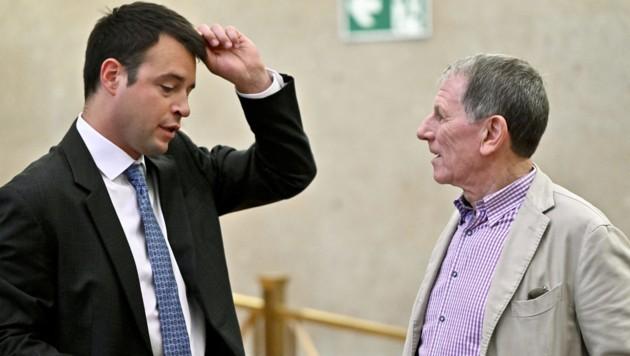 Leonhard Kregcjk vertritt Peter Hochegger im Buwog-Prozess. (Bild: APA/HERBERT NEUBAUER/APA-POOL)