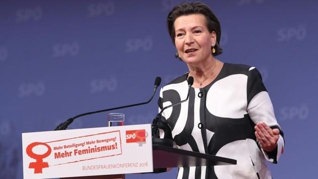 SPÖ-Frauenvorsitzende Gabriele Heinisch-Hosek (Bild: APA/HELMUT FOHRINGER)