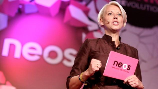 Angelika Mlinar, ehemalige EU-Abgeordnete der NEOS (Bild: APA/GEORG HOCHMUTH)