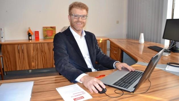 Harald Bergmann, Bürgermeister von Knittelfeld (Bild: Weeber Heinz)