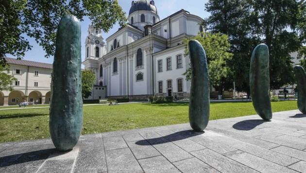 Tatort: Furtwänglerpark in der Salzburger Altstadt (Bild: MARKUS TSCHEPP)
