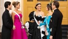 Prinz Carl Philip, Prinzessin Madeleine , Kronprinzessin Victoria, Prinzessin Sofia und Prinz Daniel (Bild: Kungehuset)