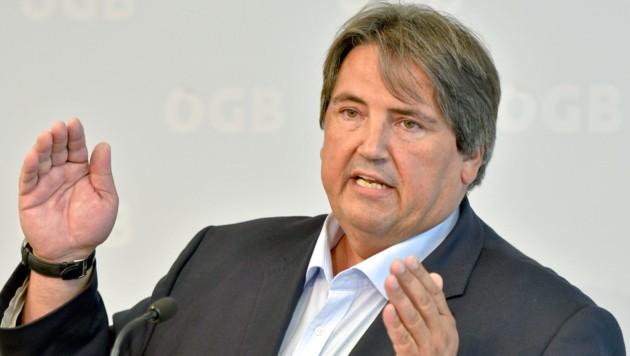 SPÖ-Sozialsprecher Josef Muchitsch (Bild: APA/Herbert Neubauer)