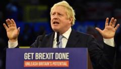 Der britische Premierminister Boris Johnson muss zittern. (Bild: AFP)