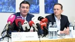 Karl Baron (links) und Klaus Handler (Bild: APA/Helmut Fohringer)