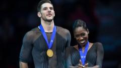 Morgan Cipres mit seiner Partnerin Vanessa James (Bild: AFP)