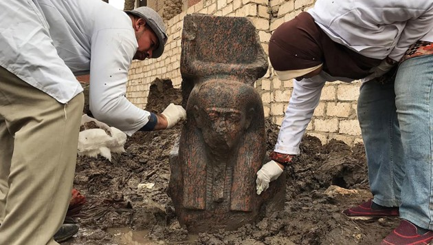 (Bild: AFP/HO/Egyptian Ministry of Antiquities)
