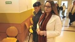 Die Ex-Miss-Vienna-Kandidatin vor Gericht (Bild: Martin A. Jöchl)