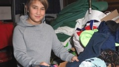 Justin (12) hilft Obdachlosen. (Bild: Gabriele Moser)