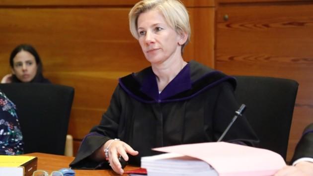 Richterin Verena Offer (Bild: Birbaumer Christof)