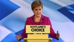 Die schottische Regierungschefin Nicola Sturgeon (Bild: AFP)