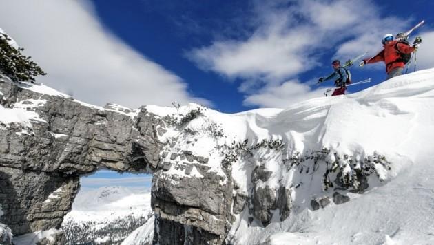 Skitouren sind am Loser beliebt (Bild: Steiermark Tourismus / Ausseerland / ikarus.cc)