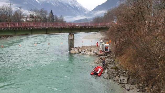 (Bild: Wasserrettung Bischofshofen)