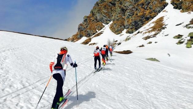 Skitouren auf den Falkert (Bild: Florian Köfer)