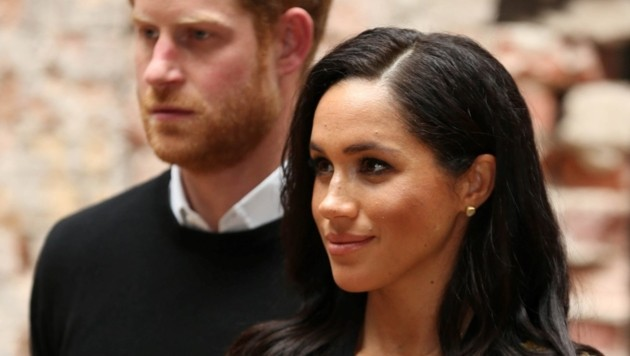 Prinz Harry und Herzogin Meghan in Bristol (Bild: AFP or licensors)