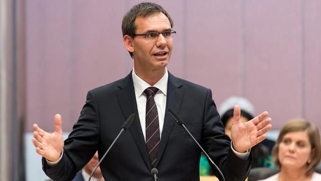 Vorarlbergs Landeshauptmann Markus Wallner (ÖVP) (Bild: APA/DIETMAR STIPLOVSEK)