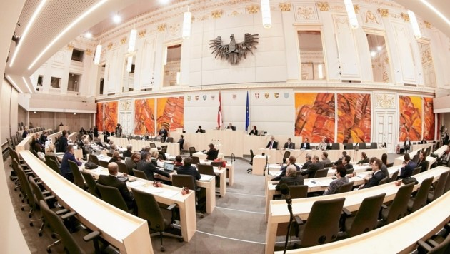 (Bild: Parlamentsdirektion/Thomas Topf)