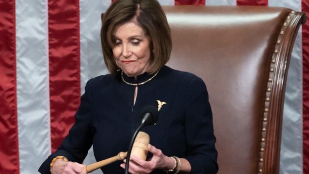 Nancy Pelosi (Bild: AFP)