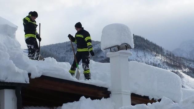 Die Folgen des Wintereinbruchs im Jänner trafen auch die OÖ-Versicherung. (Bild: ZVG)