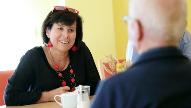 Soziallandesrätin Birgit Gerstorfer (SPÖ) (Bild: SPOÖ)