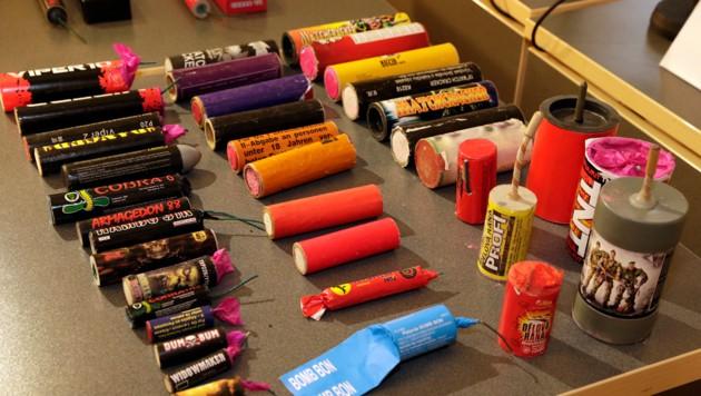 Böller und Feuerwerke verursachen jedes Jahr Dutzende Verletzungen (Bild: Klemens Groh)
