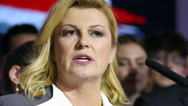 Kolinda Grabar-Kitarovic (Bild: AFP/Damir Sencar)