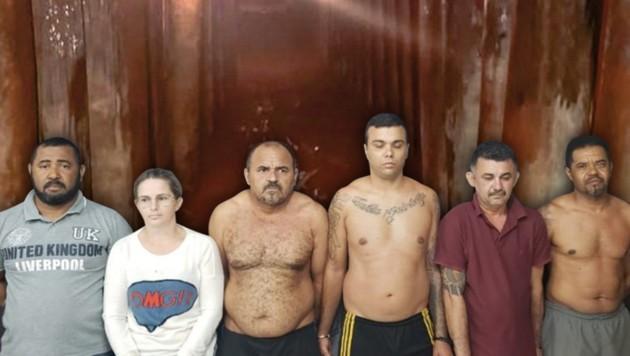 (Bild: Polícia Civil/Divulgação, krone.at-Grafik)
