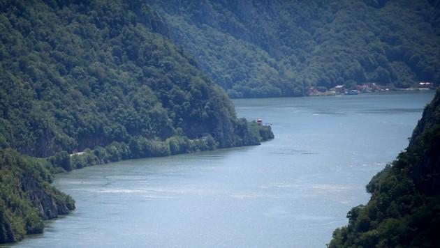 Die Donau in Serbien (Bild: AFP)