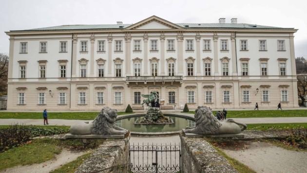 Barrierefreier Zugang ins Schloss Mirabell, auch bei Stellenausschreibungen. (Bild: MARKUS TSCHEPP)