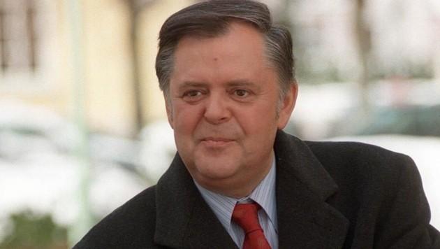 Ernst Höger im Jahr 1998 (Bild: APA)